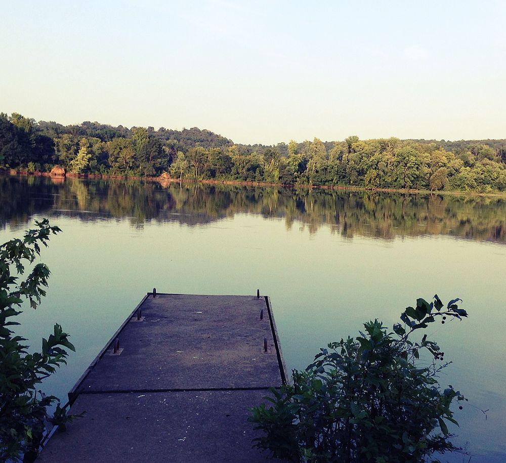 Photo in Landscape #lake #fishing #dock #nature
