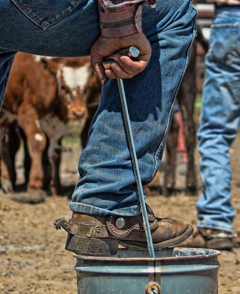 Photo in Random #rodeo #cowboy #boot #branding