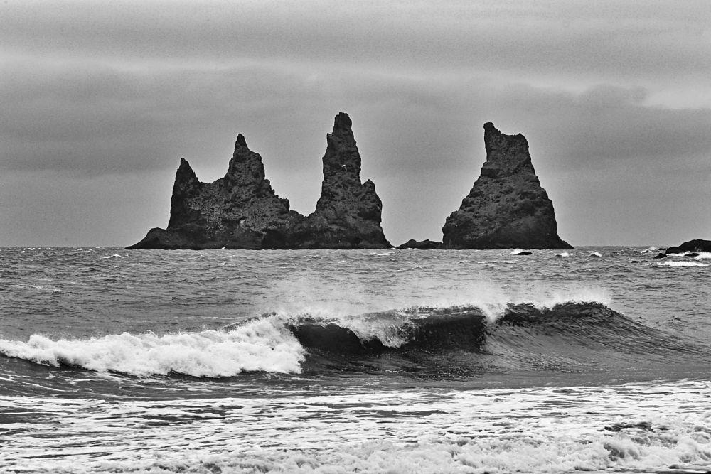 Photo in Black and White #black and white #landscape #sea