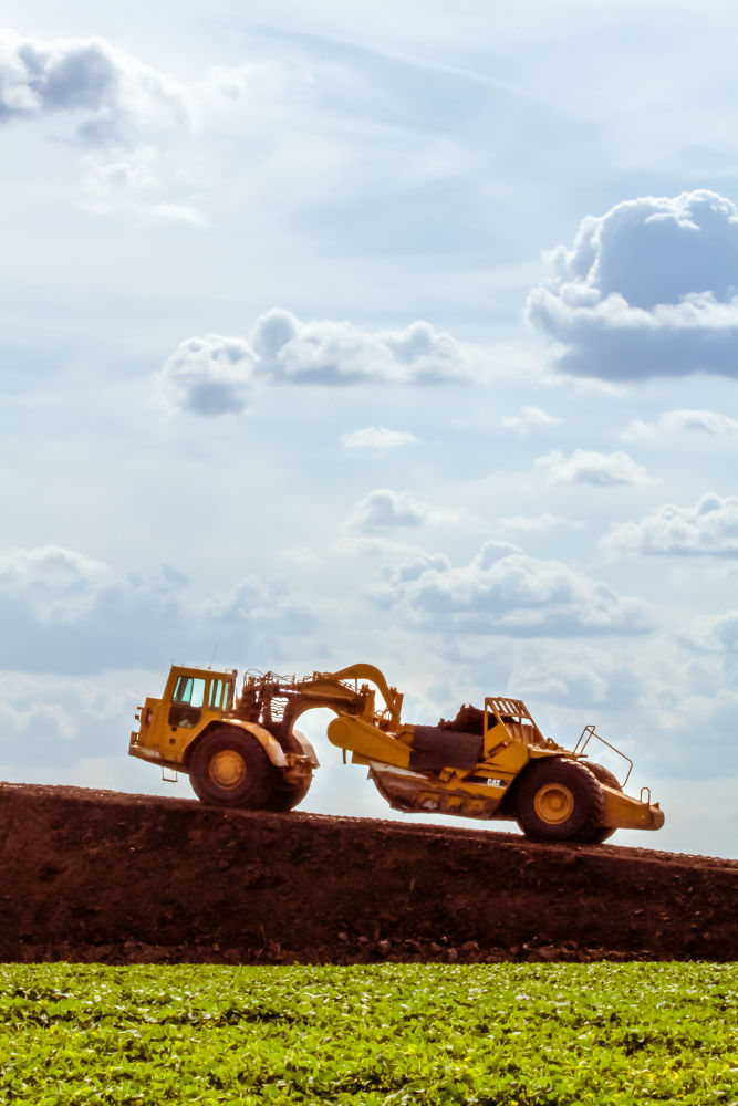 Photo in Random #tractor #dirt #hill #construction #sky #nature #machine #ypa2013 #ypa2014