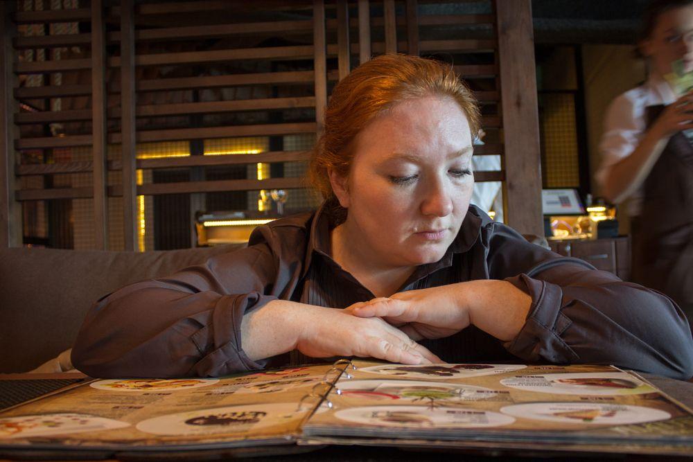 Photo in Portrait #woman #portrait #interior #cafe