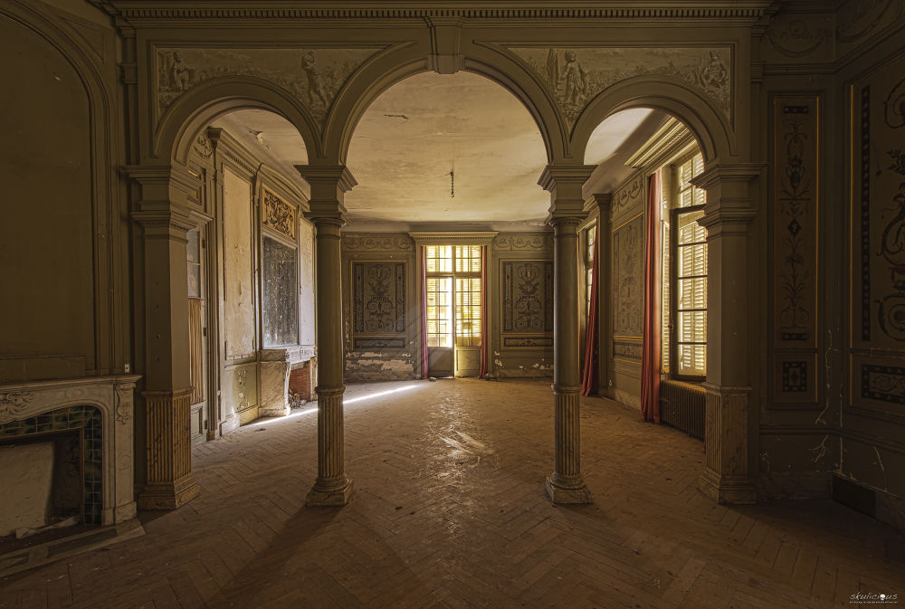 Photo in Random #urbex #forgotten #decay #abandoned #skulicious #castle #château