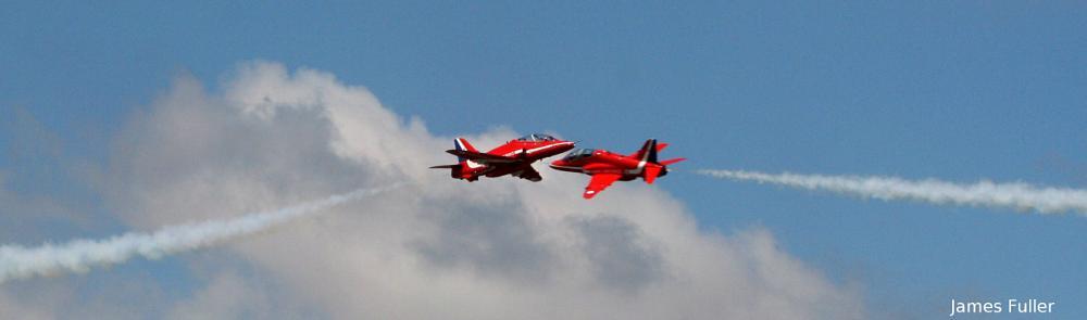 Photo in Vehicle #red arrows #raf red arrows #james fuller #gypo pass #airshow #air display #hawk #bae hawk