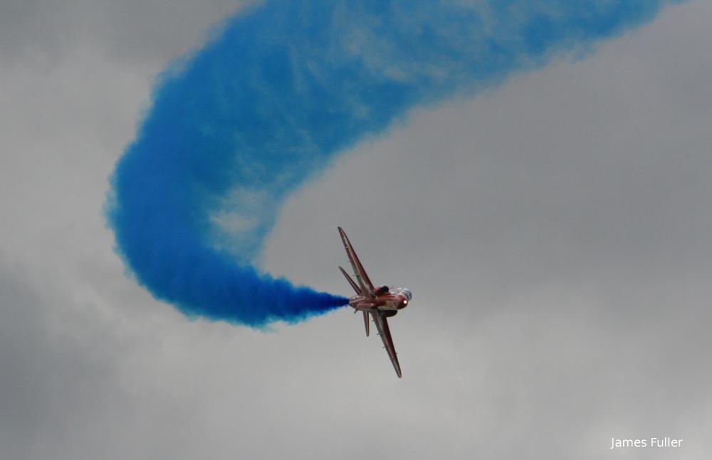 Photo in Vehicle #raf #raf red arrows #red arrows #hawk #bae hawk #james fuller #airshow #farnborough