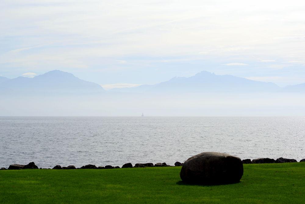 Photo in Landscape #lake #lac #leman #alpes #alps #lake geneva