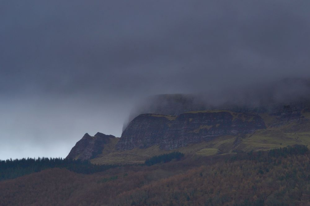 Photo in Rural #binevenagh #cloud #mountain #crag #weather