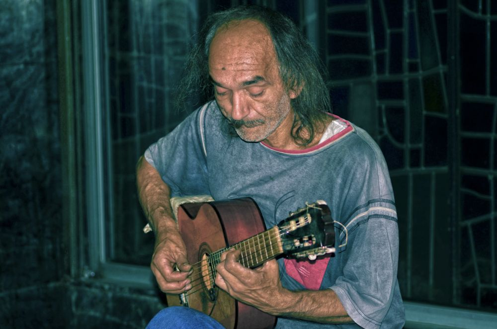 Photo in Street Photography #music #street #musician #artist #guitar #man #people #old #photo #photography #photographer #photograph #nikon #talent #talented #rare #beautiful #portrait