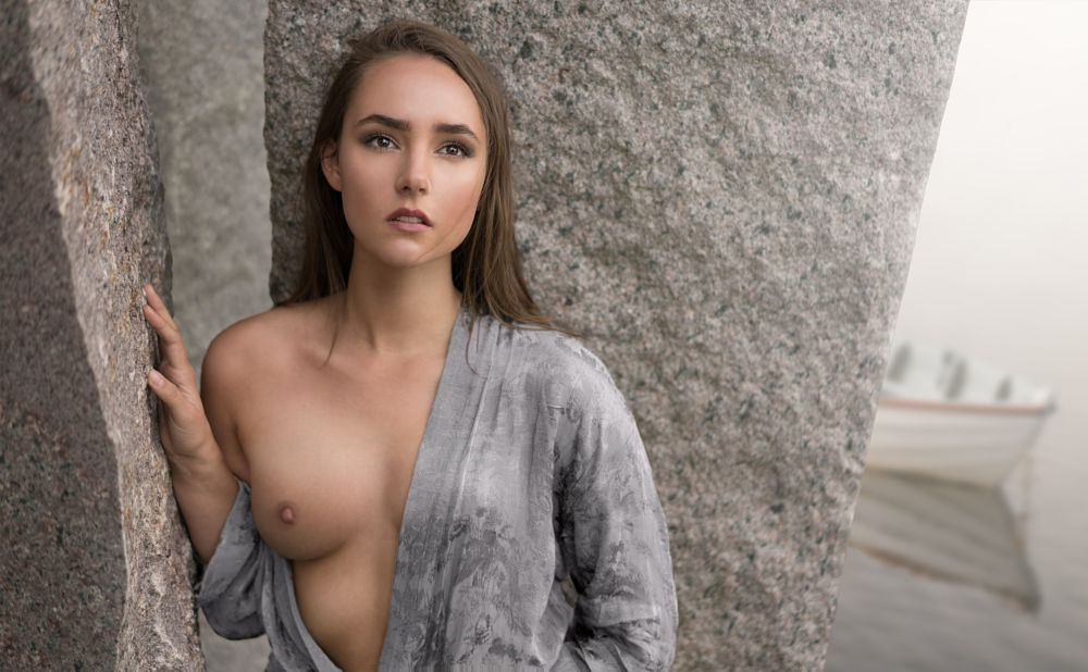 Photo in Nude #portrait #outdoors #natural light #composition #nothing is real #sensual #beauty #woman #model