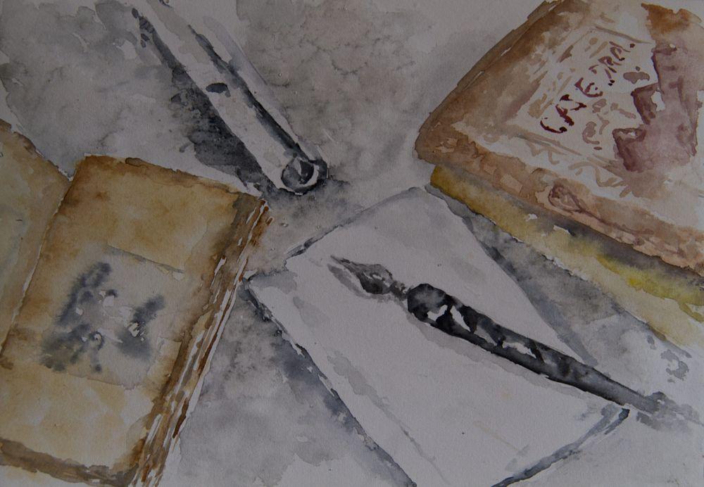 Photo in Fine Art #watercolor #sketch #draw #paint #art