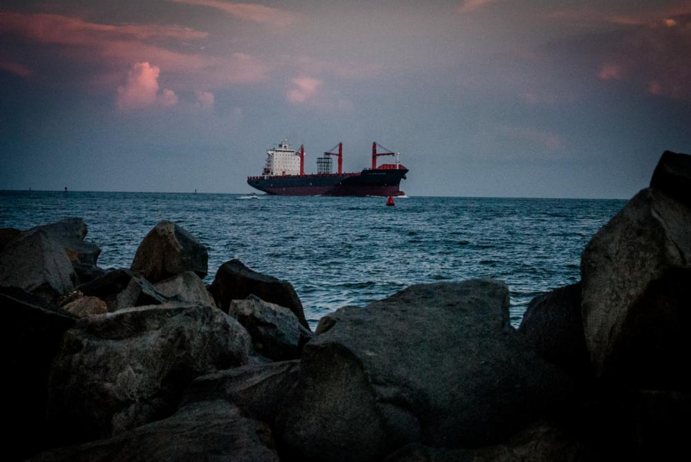 Photo in Random #ship #harbor #ship entering harbor