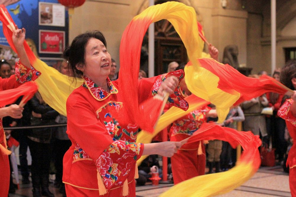Photo in Portrait #south gloucestershire chinese #chinese folk dance #traditional chinese dance #traditions #cultural dance #chinese new year #portrait #dance #bristol museum #portrait photography #woman