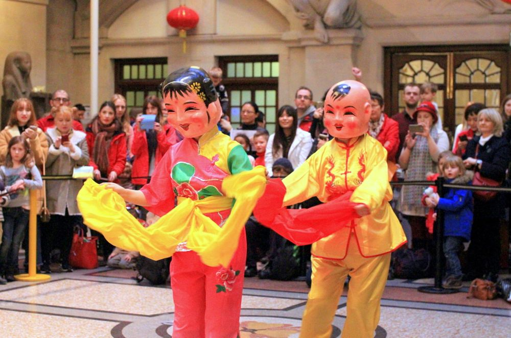 Photo in Random #south gloucestershire chinese  #chinese folk dance #chinese new year celebrations #cultural dance #cultural traditions #culture #traditions #bristol museum #portraits