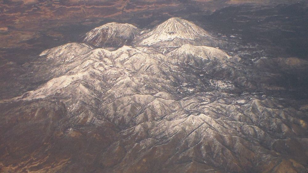 Photo in Nature #snow mountains #scenic beauty #flight journey