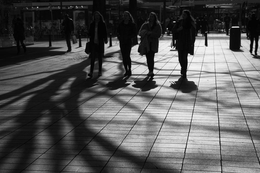 Photo in Street Photography #rotterdam #streetcontest #people #black and white