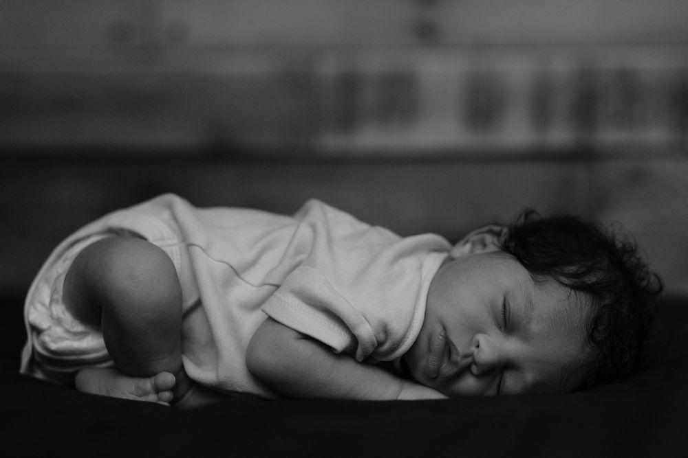 Photo in Black and White #newborn #black and white #monochrome #contrast #fujifilm #x-t2