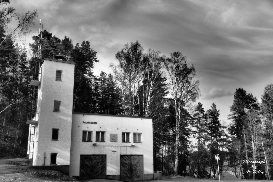 Photo in Random #fire station #fire #station #finland #arihilly #ari hilly #ari #hilly