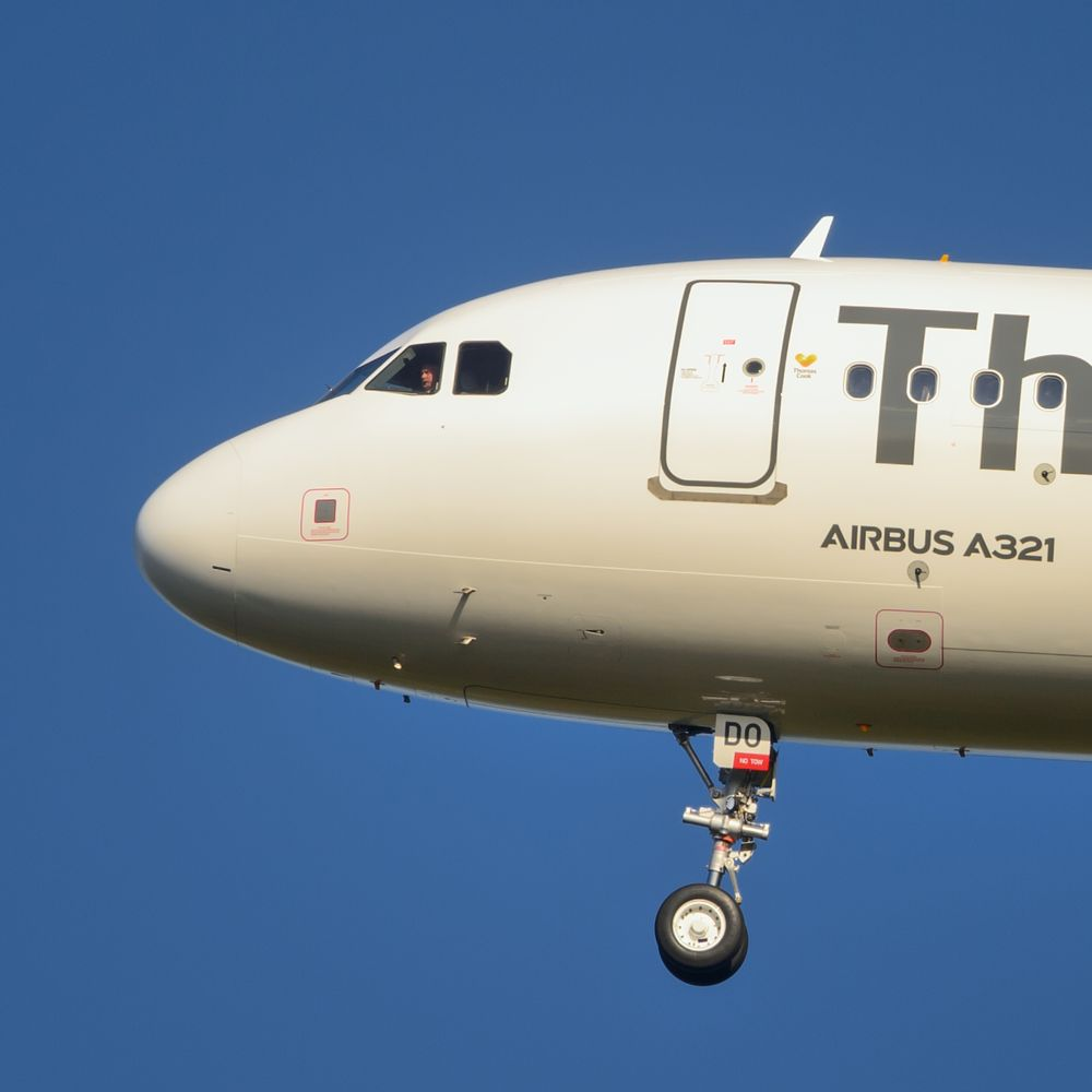 Photo in Vehicle #airbus #plane #aircraft #close up #in flight #pilot #.