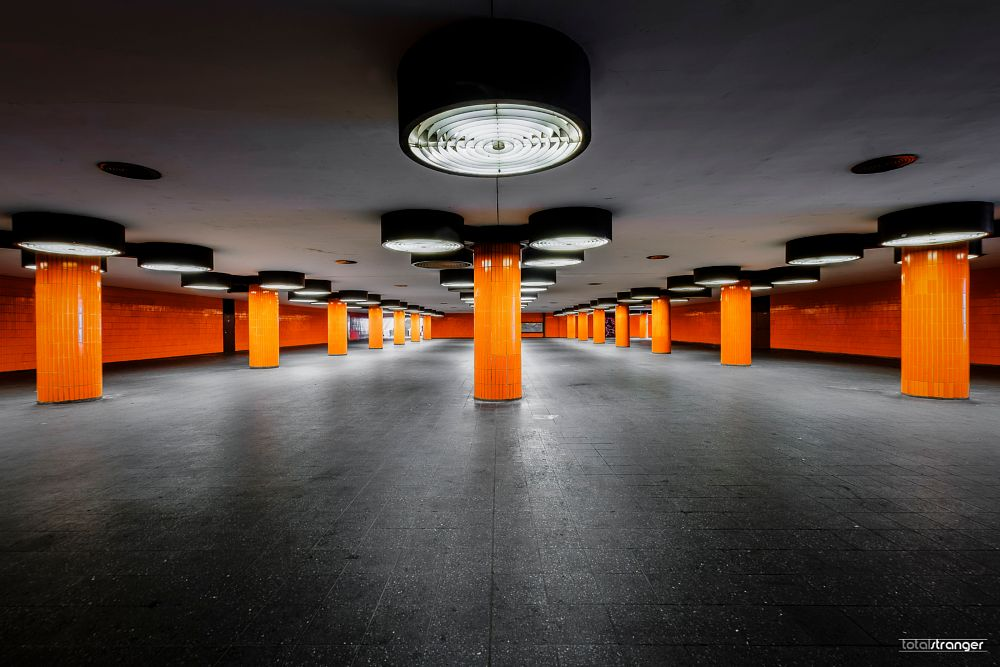 Photo in Architecture #architecture #underground #icc #fuji #x-t1 #longexposure #hdr #colour
