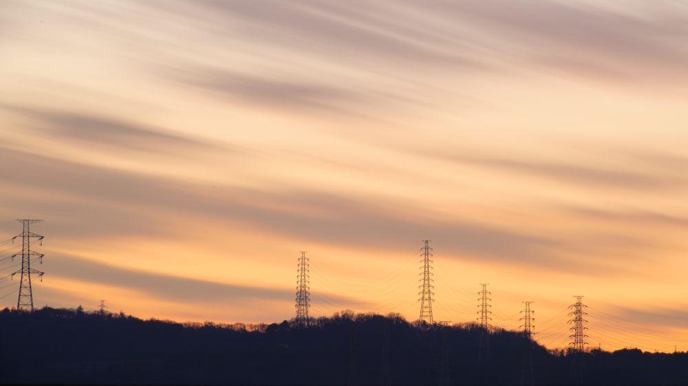 Photo in Landscape #sunset #mountain #cloud