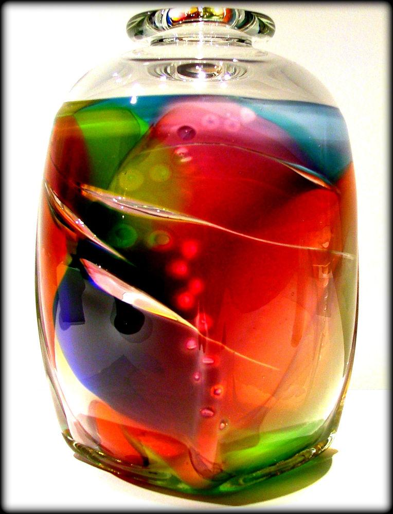 Photo in Fine Art #rainbow #vase #glass #fine_art #nikon #frelanzfoto #fragile