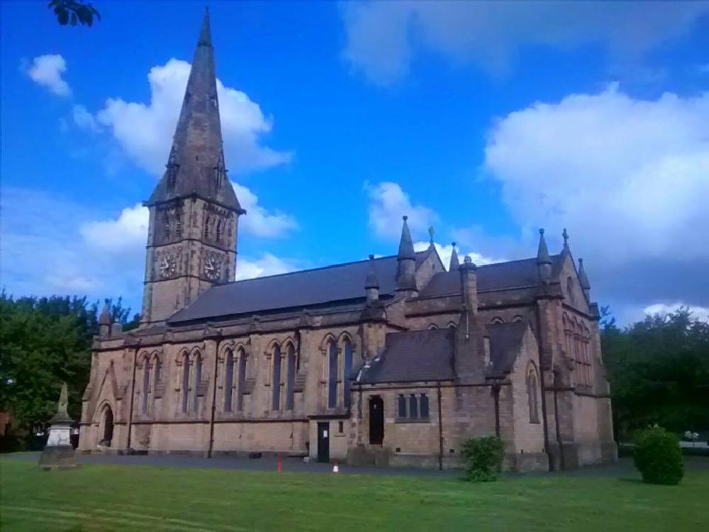 Photo in Architecture #church #religion #audenshaw #tameside #england #cheshire
