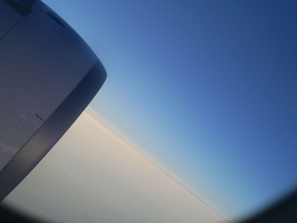 Photo in Random #mallorca #flight #turbine #sky