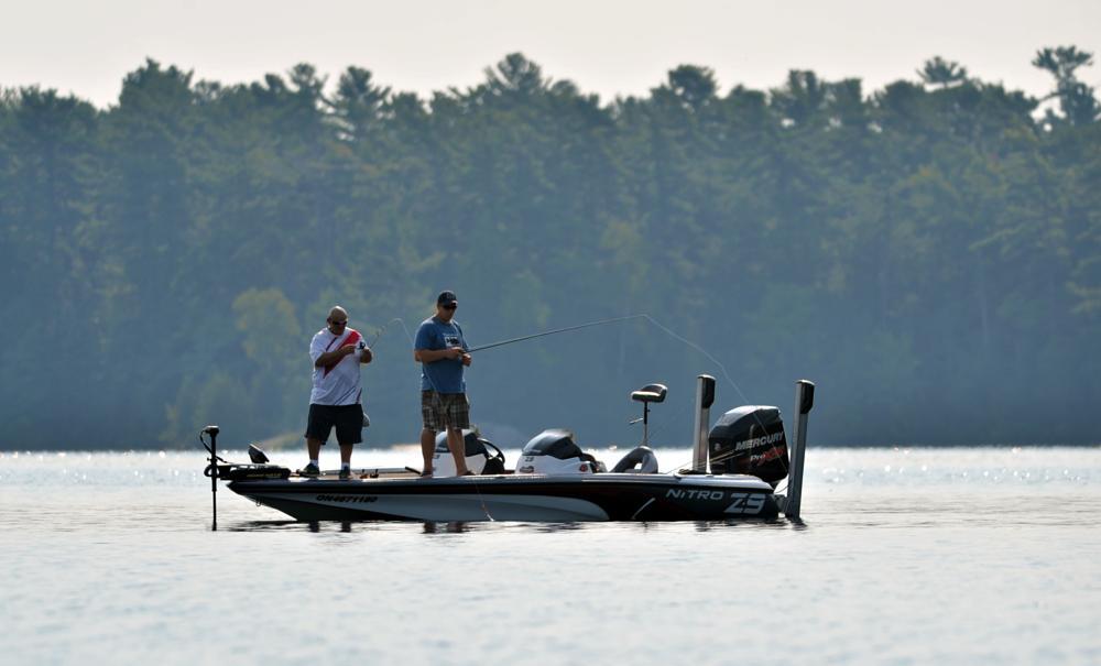 Photo in Sports #sport #fishing #mercury #boat #lake #nikon #d4 #300mm