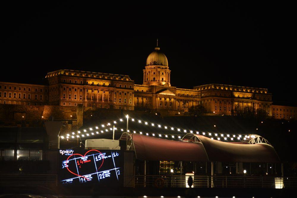 Photo in Cityscape #night #city #river #danube #valentine #celebration