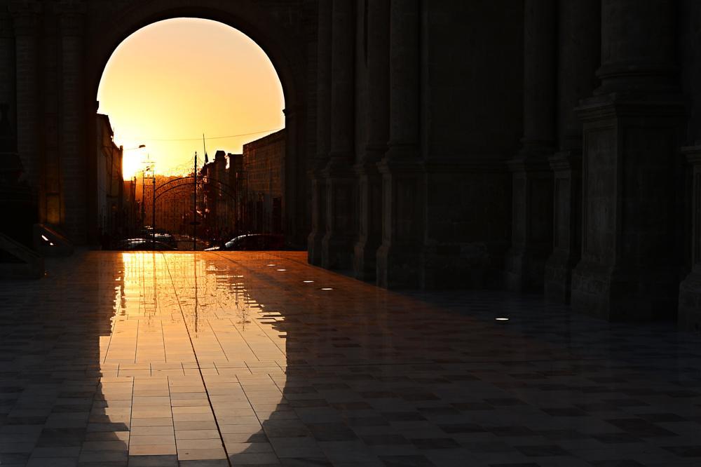 Photo in Landscape #peru #arequipa #sunset #square