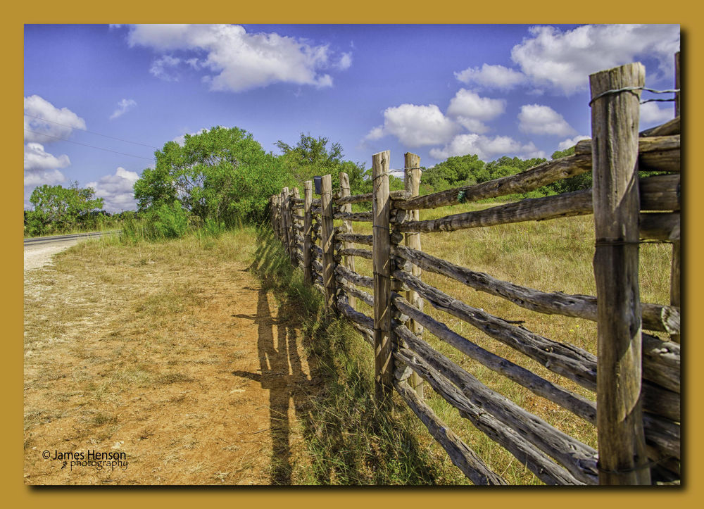 Photo in Landscape #ypa2013 #fence #rails #outdoors #rural #nikon #nikon 18-105mm #nature #landscape #hdr