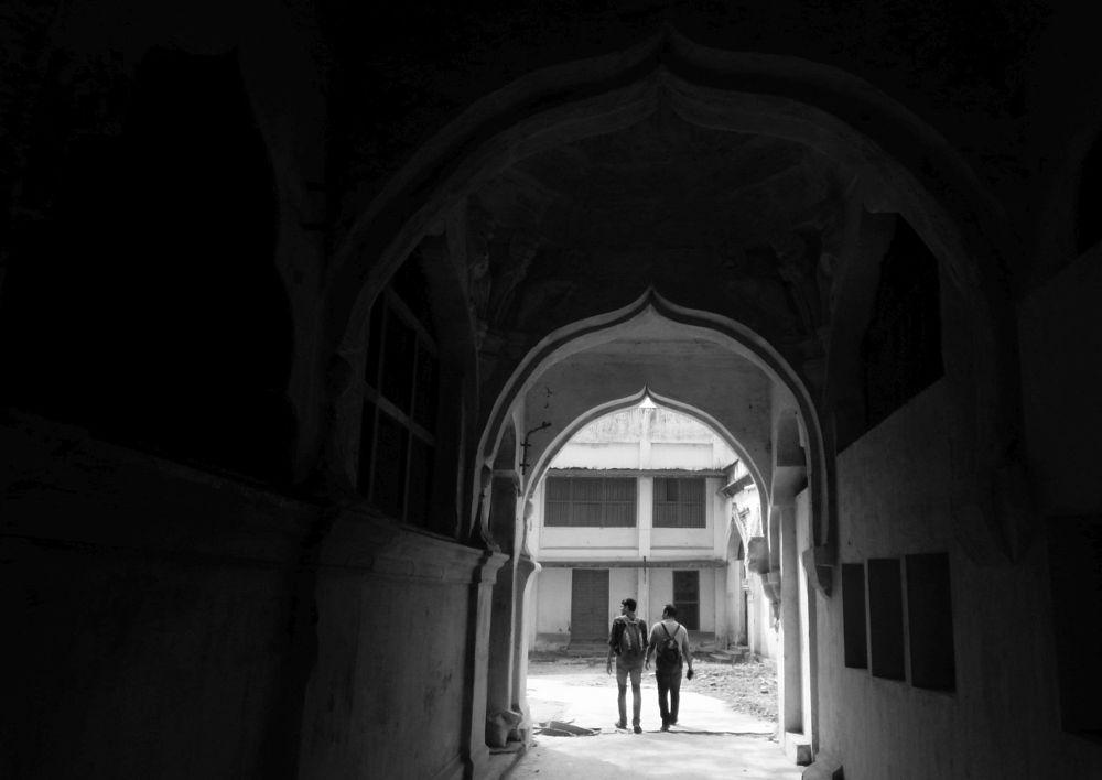 Photo in Architecture #b&w #arches #explore #india #gateway