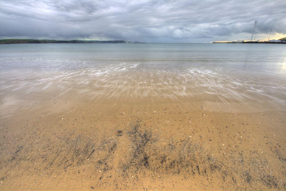 Photo in Sea and Sand #weymouth #beach #sea sand