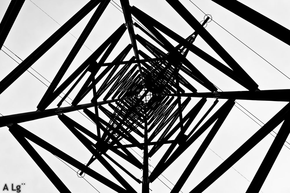 Photo in Industrial #ypa2013 #spiral #black and white #sony #industrial