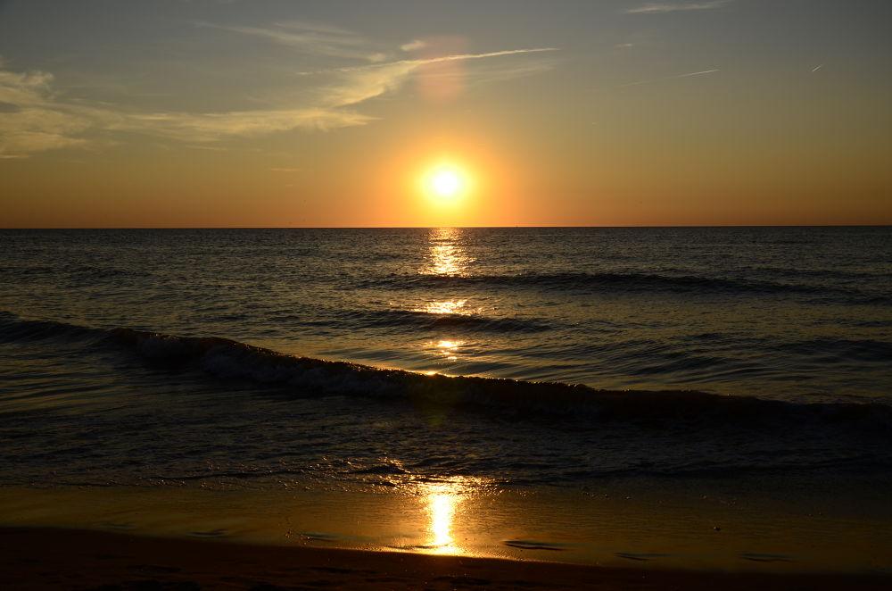 Photo in Nature #ypa2013 #sunset #sun #water #sea #warm
