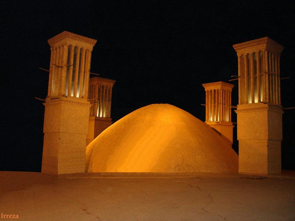 Photo in Travel #water reservoir #cistern #traditional buildings #yazd #iran #travel