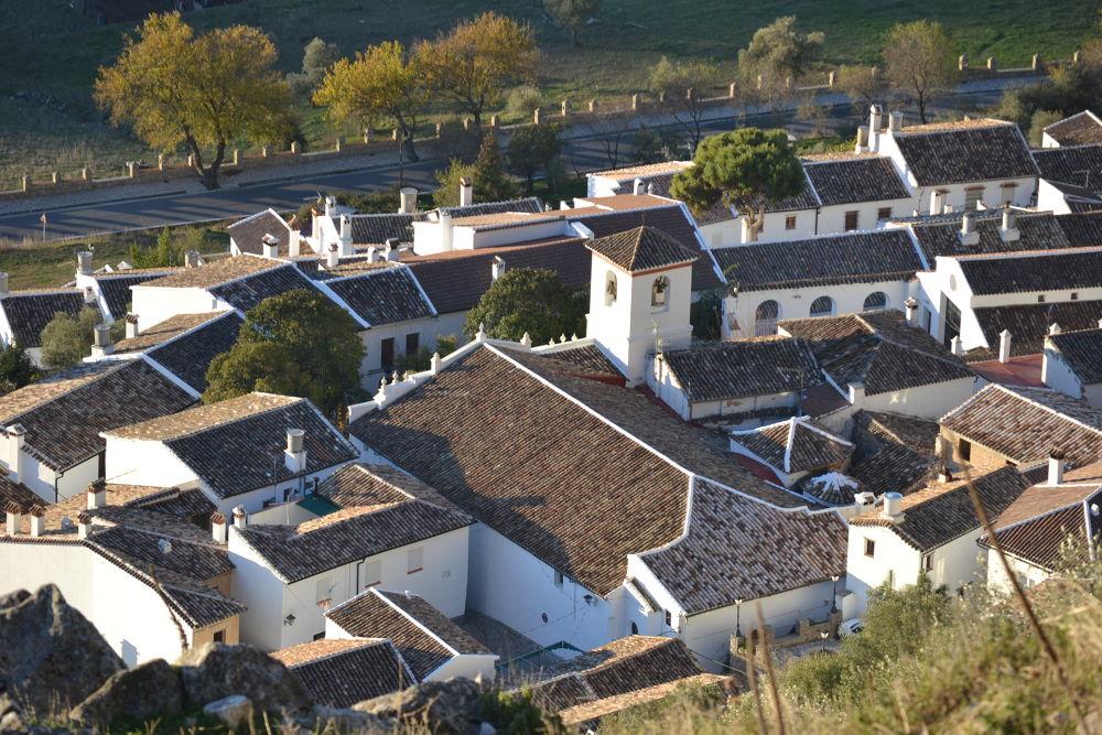 Photo in Landscape #tejados #pueblo blanco #soleado