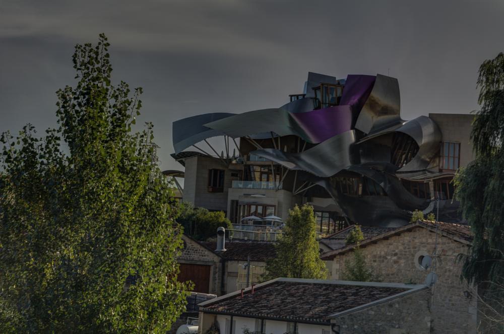 Photo in Architecture #rioja bodega otoño marques ris