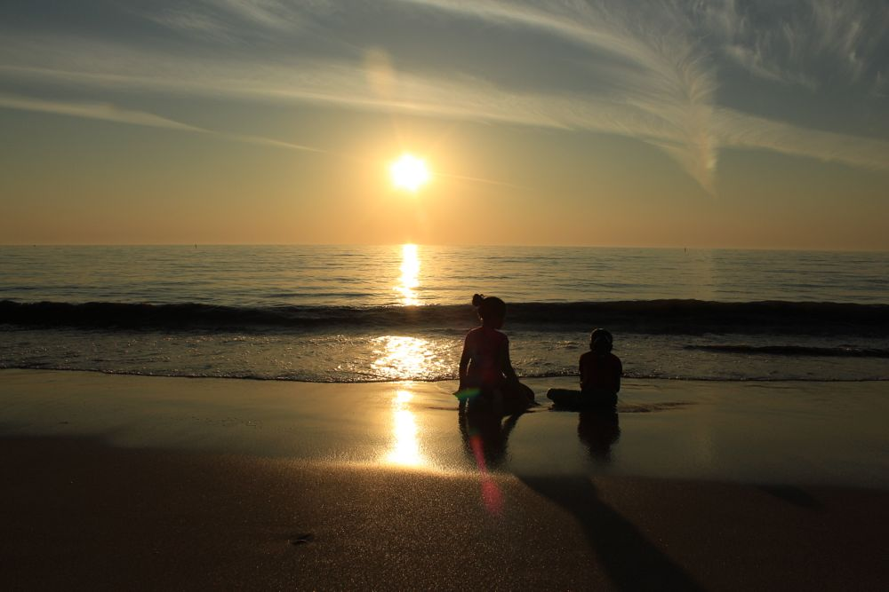 Photo in Sea and Sand #sun #sand #beach #juhu #mumbai