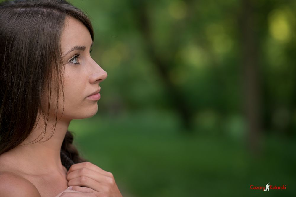 Photo in Portrait #cezary kotarski #girl in nature #portrait girl