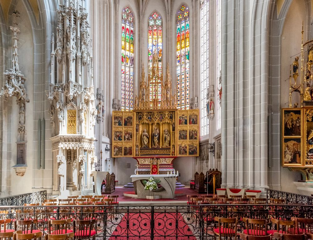 Photo in Architecture #cathedral #church #interior #gothic #building #europe #slovakia #kosice #architecture #city #travel #tourism