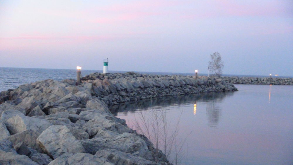 Photo in Random #lighthouse #waterscape #nature #sunset
