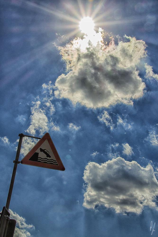 Photo in Nature #sun sky blue