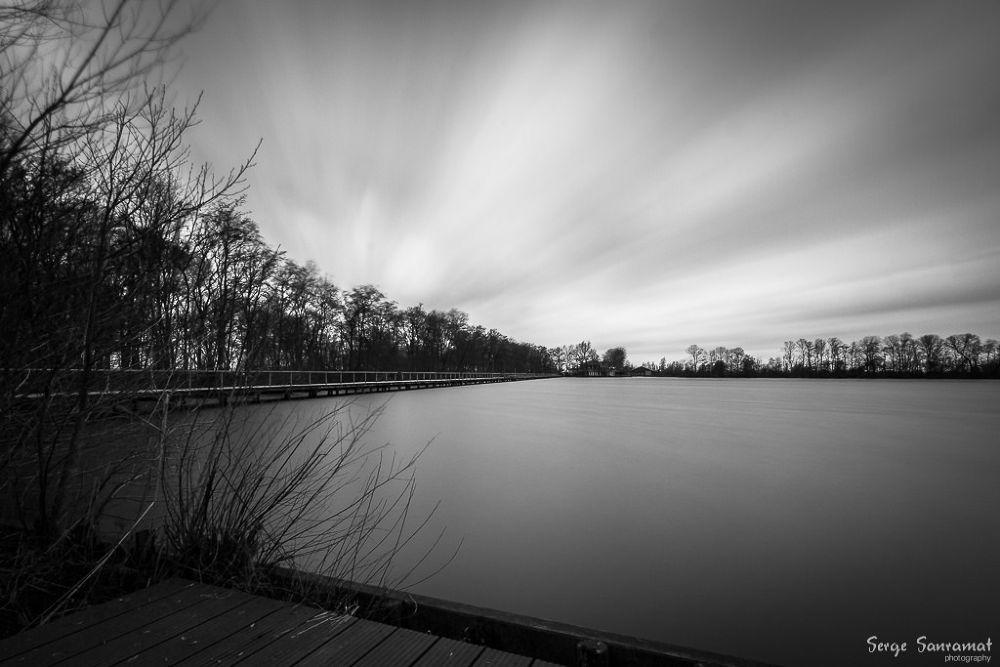 Photo in Black and White #black & white #long exposure #waterworld