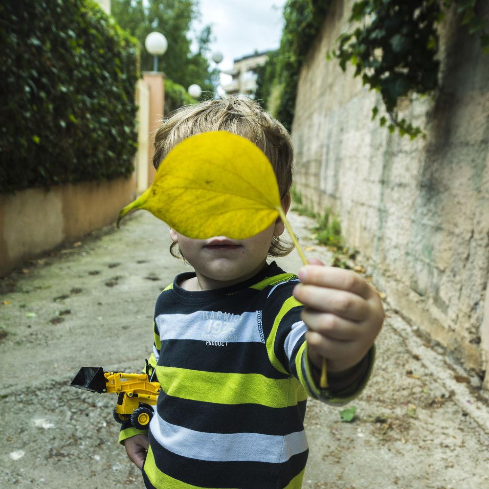 Photo in Random #niño #boy #chico #oja #verde #green #cara #face #mallorca #majorica