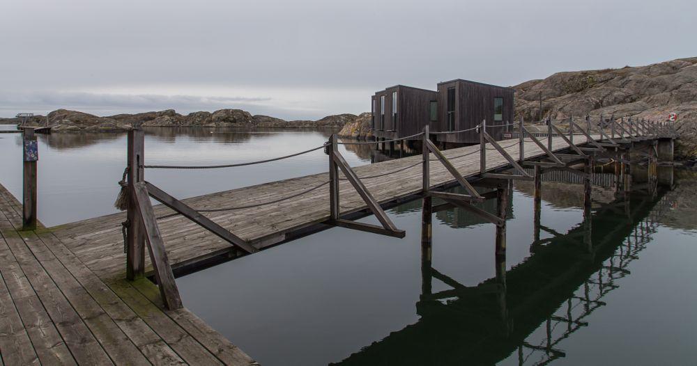 Photo in Landscape #water #sea #bridge #skärhamn #sweden #calm #stilness