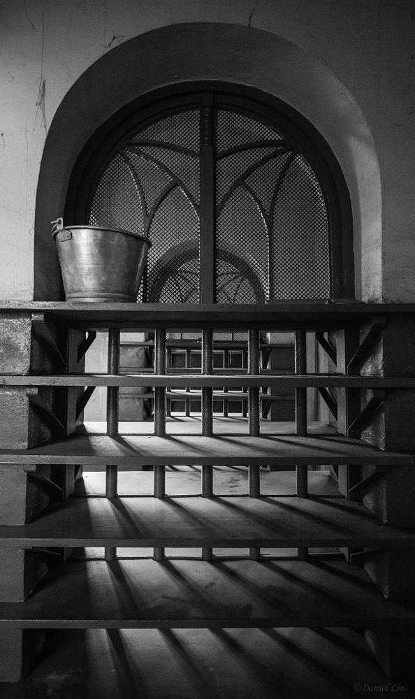 Photo in Black and White #bathroom #black and white #light and shade #light #shade #black #white