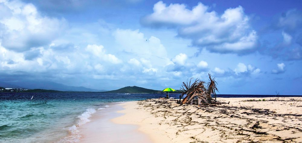 Photo in Sea and Sand #icacos #fajardo #catamaran #shoreline