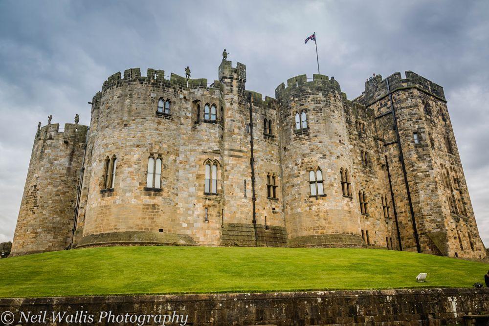 Photo in Landscape #alnwick castle #alnwick #northumberland #uk