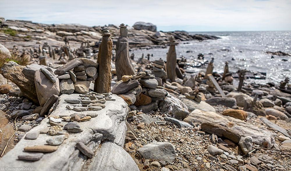 Photo in Fine Art #beach #pemaquid maine