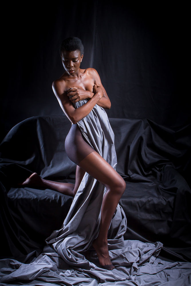 Photo in Random #nude #art #low key #black #studio #strobist #kathy #yaoundé #cameroon #light #dark #modeling